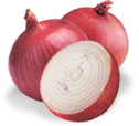 Red Dehydrated Onion